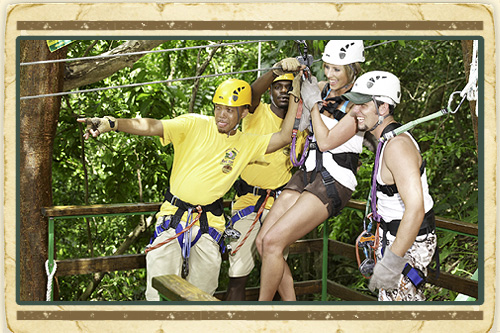 Zipline & River Kayak Adventure from Montego Bay